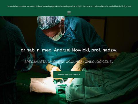 Www.proktolog-nowicki.pl Żylaki odbytu