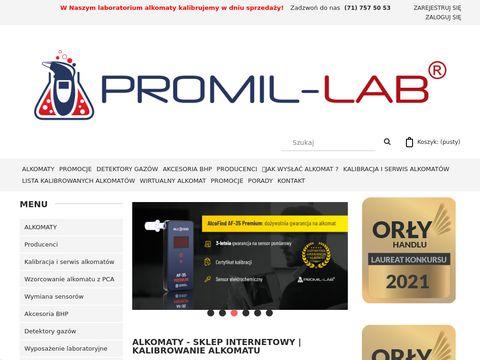 PROMIL-LAB, ALOMATY