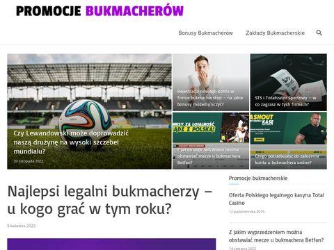 Serwis internetowy o zakładach sportowych