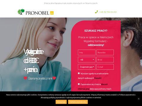 Oferty pracy dla opiekunki w Niemczech - Pronobel