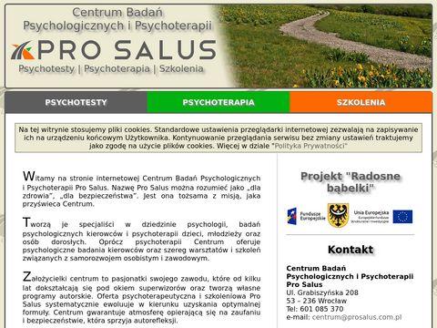 ProSalus - terapia Wrocław