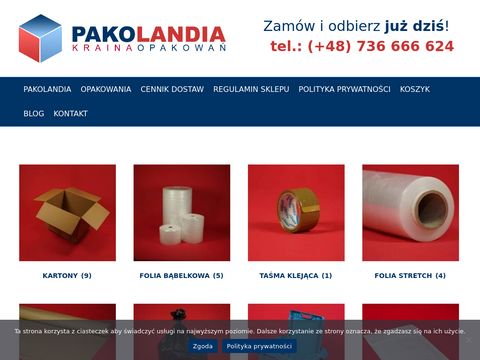 Kartony do przeprowadzki warszawa - przeprowadzkisklep.pl
