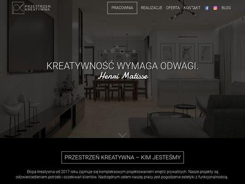 Przestrzen-kreatywna.pl aranżacja wnętrz