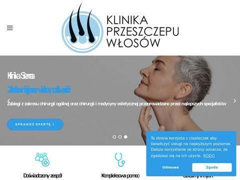 Przeszczep włosów Warszawa - Klinika Przeszczepu Włosów