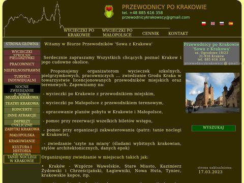 """Przewodnicy po Krakowie """"Sowa"""""""