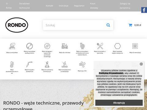 Producent węży przemysłowych i przewodów technicznych - SKLEP internetowy