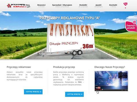 Przyczepa reklamowa jako forma reklamy mobilnej