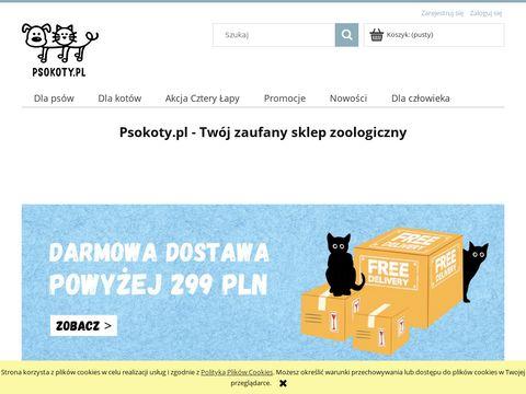 Sklep zoologiczny Psokoty   Karmy i artyku艂y dla zwierz膮t