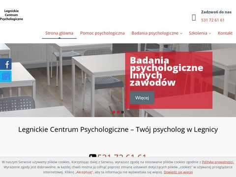 Www.psychologlegnica.com badania psychologiczne