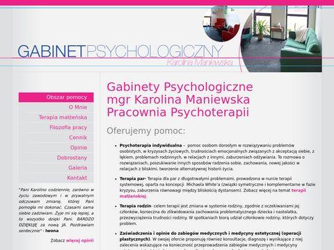 Psychologskorzewo.pl - terapia małżeńska