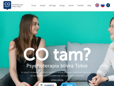 Gabinet psychoterapii CoTam? - psychoterapiacotam.pl