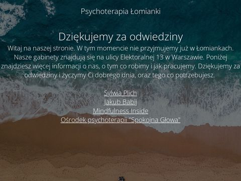 Psychoterapia �omianki