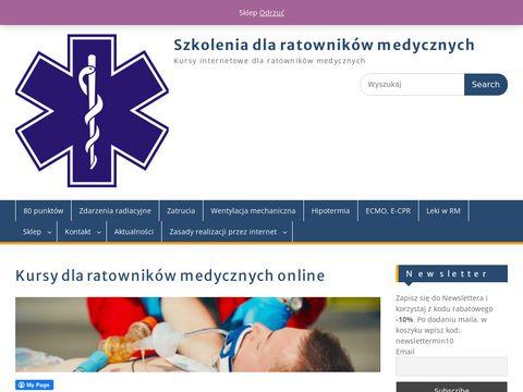 Kursy dla ratowników online