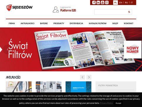 PZL Sędziszów - filtry do samochodów i maszyn rolniczych