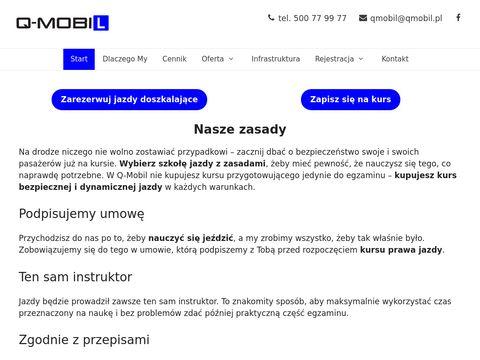Jazdy doszkalajÄ…ce - Warszawa