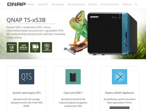 QNAP - serwery plik贸w i dyski sieciowe