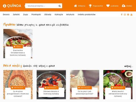 Przepisy w Quinoa.com.pl
