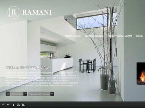 Ramani - zabudowy kuchenne Warszawa