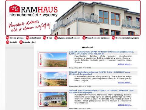 RAMHAUS Sprzedaż nieruchomości Chojnów