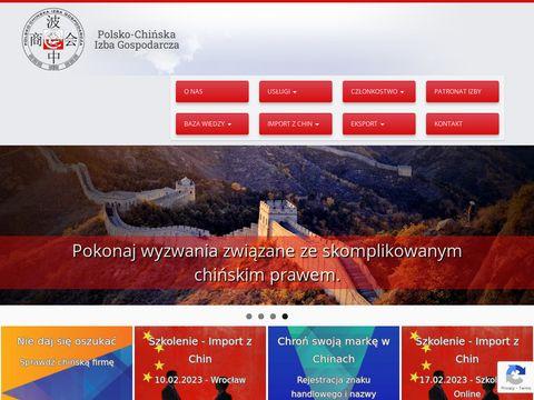 Raportzchin.pl - kontrola towaru w Chinach