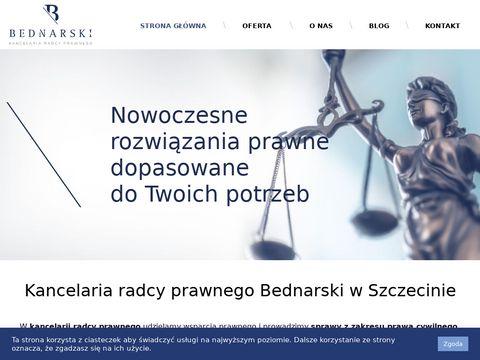 Rbednarski.pl adwokat szczecin