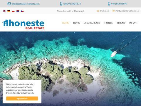 NieruchomoÅ›ci Chorwacja - realestate-honeste.com