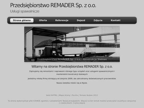 PrzedsiÄ™biorstwo Remader Sp. z o.o.
