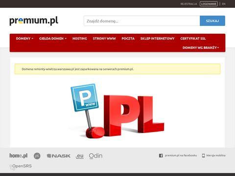 Profesjonalne wyko艅czenie mieszka艅 - remonty-wnetrza.warszawa.pl