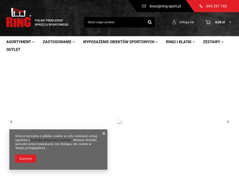 Worek treningowy- Ring Sport