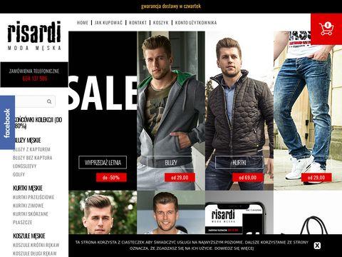 Risardi.pl - wysokiej jakości odzież dla mężczyzn