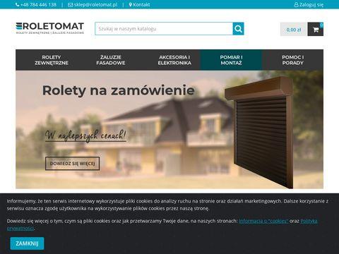Rolety na zamówienie - roletomat.pl