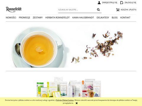 Ronnefeldt-sklep.pl - herbaty zielone