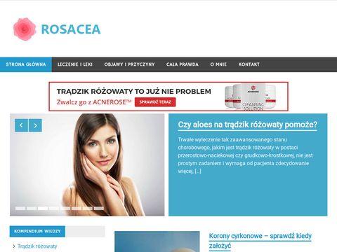 Rosacea.net.pl - skutecznie uderz w trądzik różowaty