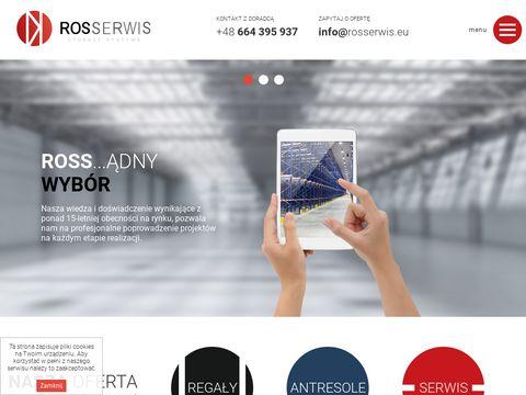 Rosserwis - regały magazynowe