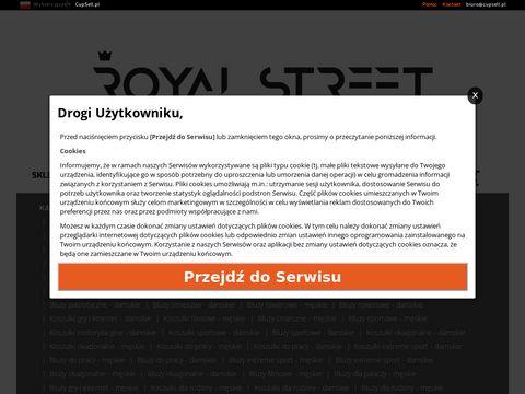 Royal Street - koszulki z nadrukiem