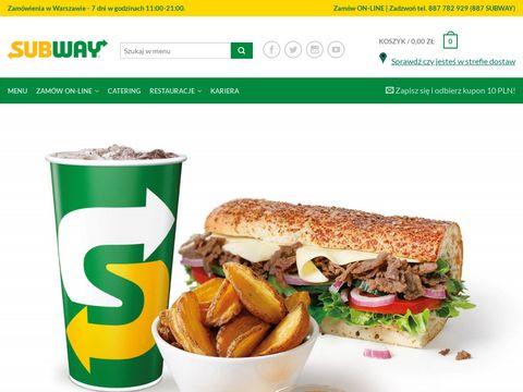 Subway kanapki