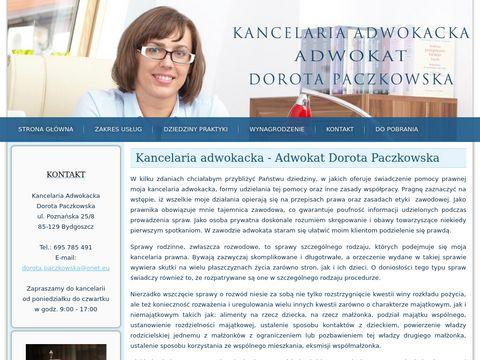 Adwokat Dorota Paczkowska Bydgoszcz