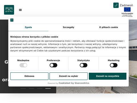 Zak艂ad produkcyjny RR Granity, blaty kuchenne