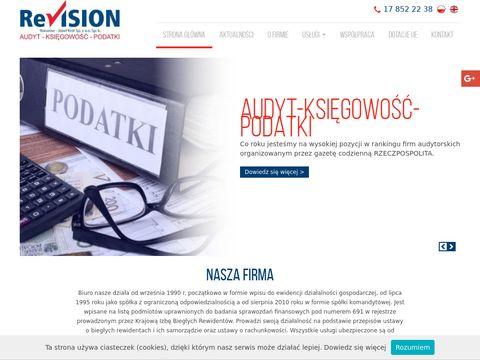 Revision-Rzeszów audyt środków unijnych