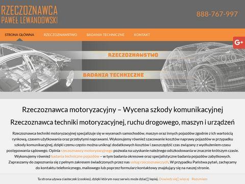 LEWANDOWSKI PAWE艁 badania okresowe pojazd贸w