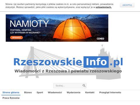 Www.rzeszowskieinfo.pl - wiadomości Rzeszów