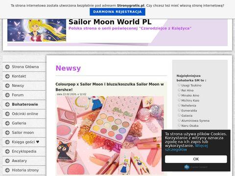 Sailor Moon - World - Polska Strona poÅ›wiÄ™cona Czarodziejkom!