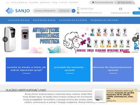 Sklep internetowy Sanjo.pl - Profesjonalne Å›rodki czystoÅ›ci
