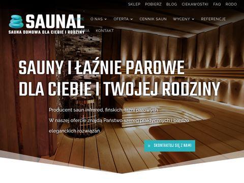 Saunal- producent saun