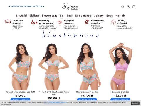 Hurtownia bielizny - sawren.pl