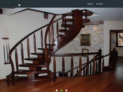 Schody drewniane, schody kraków