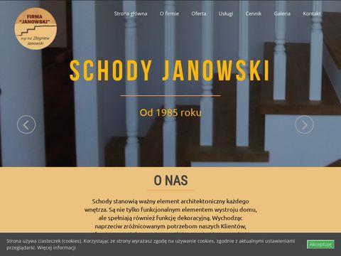 Schody Janowski - schody drewniane