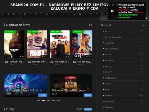 Filmy bez limitów na Seans24.com.pl