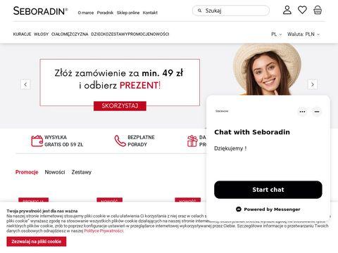 Seboradin.pl ampułki do włosów