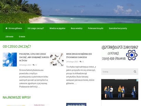 SekretySukcesu.eu - Strona o racjonalnym oszczÄ™dzaniu